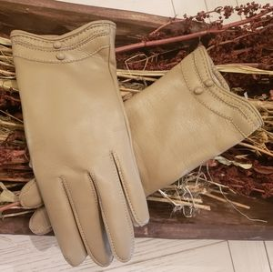 Vintage Fall Riding Gloves